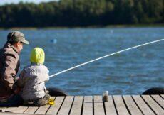 huisje aan viswater